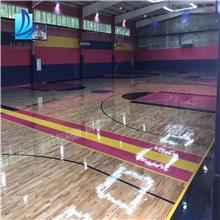 体育木地板生产厂 体育木地板施工价格 山东体育木地板厂家