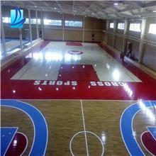 体育木地板生产厂 体育木地板翻新 山东体育木地板厂家