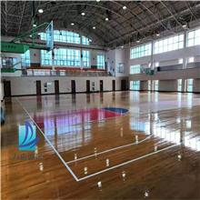 体育木地板生产厂 唐山体育木地板 篮球馆体育木地板厂家