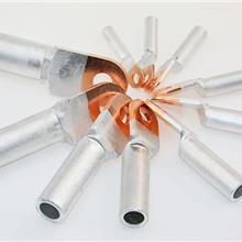 铜铝接线端子 铜铝过镀复合接线线线耳 DTL70 铜铝过镀端子 铜铝接线鼻子