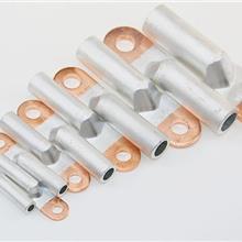 中雷供应铜铝接线鼻子 铜铝过渡接头 铝线接线端子 铜铝鼻DTL系列铜铝鼻子