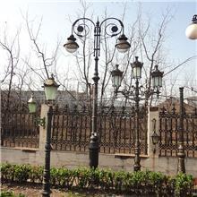 生产销售 庭院灯杆 路墩交通道路铸铁灯杆 户外庭院灯铸铁件
