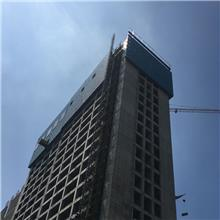 建设工程安全防护爬架网 喷塑爬架网片 华鑫定制