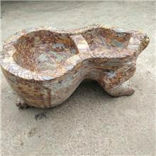 直销旧石槽 石雕石墨盘 石敦珠刻字磨盘