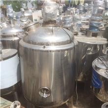 二手化工液体储罐 二手食品卫生级加热搅拌罐 定制价格二手化工原料溶解罐