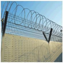 英泰尔供应围墙防爬刺网 刀片型防爬刺网 安防用防爬刺网