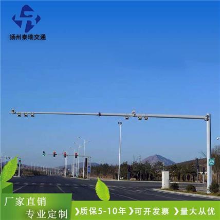 【專業生產】監控桿,交通標志桿,小區安防監控立桿,支持定制
