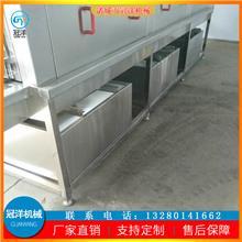 鸭笼清洗机 大型周转筐清洗流水线 不锈钢商用 周转箱清洗机设备