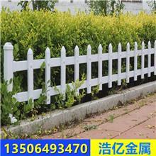 厂家生产批发高品质 PVC塑钢围墙护栏 社区护栏 临朐浩亿金属制品