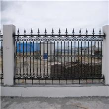 厂家直销 围墙铁艺护栏 围栏批发 浩亿金属 小区铸铁护栏 铸铁护栏厂家