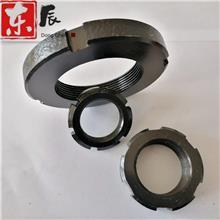 现货供应GB812/GB810圆螺母 元螺母现货10-300 锁紧圆螺母轴端四槽元螺母