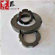 厂价直销精密锁紧螺母 圆形细牙螺母 圆螺母止退止动GB812螺母螺帽