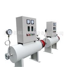 管道加热器氮气加热器 管道对接形式循环水加热器
