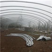 天津厂家现货销售大棚管温室大棚管Q235B大棚管可折弯缩头供应全国