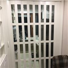 定做推拉开放式厨房移门 室内隔断吊轨折叠门 规格多样