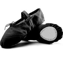 儿童舞蹈鞋厂家 男女童芭蕾舞鞋 成人软底练功鞋 猫爪鞋 瑜伽鞋 帆布形体鞋 暴走电商