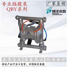 QBYF-40水泥,石灰石耐磨泵 无堵塞气动粉体隔膜泵