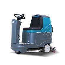 小型驾驶式洗地机 机场工厂用洗地机