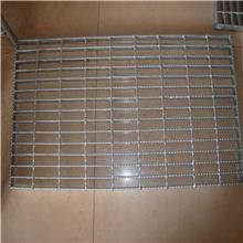 热镀锌钢格板 抗压不锈钢平台踏步格栅板 排水沟盖板 定制