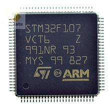 32位微控制器  STM32F107VCT6  单片机  LQFP-100  原厂原装现货