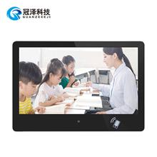 重庆校园智能班牌管理系统 数字班牌 智慧班牌 校园学校发布系统 22寸电子班牌定制厂家