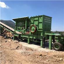 昆明石灰石制砂机 流动式制砂机 洞渣破碎机 金马机械