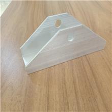 铝合金导轨 太阳能光伏配件 铝合金三角太阳能光伏配件 幕墙配件 正利供应