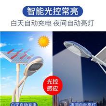 自动光控感应新农村太阳能路灯带灯杆天黑自动亮超亮6米大功率乡村led户外灯