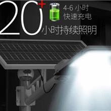 直销太阳能路灯户外灯带灯杆全套500W新农村牙刷款高亮大功率LED庭院灯 五年质保免布线