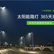 365天亮灯太阳能路灯6米户外灯新农村锂电池led路灯蓄电池高杆灯超亮