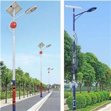 太阳能庭院路灯led户外防水超亮大功率 小区道路公园3米6米高杆灯