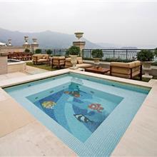 四边池小水池马赛克瓷砖25mm陶瓷马赛克防滑砖