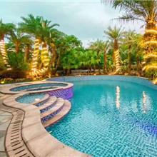 蓝色马赛克材质贴图酒店园林泳池专用玻璃马赛克