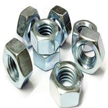 国标GB52镀锌六角螺母4级六角螺帽 螺栓螺丝帽M3M4M5M6M8M10-M33