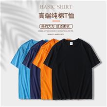 新款纯棉空白T恤衫 广州空白T恤衫工厂 DDUP空白T恤