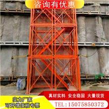 桥梁施工笼梯 工人上下安全通道 批发框架式梯笼 江苏箱式安全梯笼