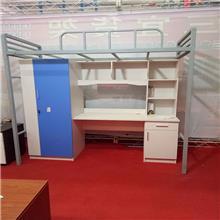 云南公寓床批发销售 上床下桌组合床带衣柜书桌 学校家具配套