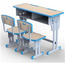 湘潭课桌椅学校家具学习课桌椅辅导班课桌椅订购质量可靠