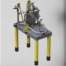 摩托车制造 框架焊接夹具 汽车焊接工装夹具设计