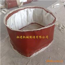 非金属补偿器    法兰圆形非金属膨胀节   织物软连接更换