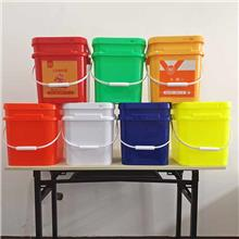 30升塑料桶 收纳方桶化工桶 机油桶黄油桶通用包装方桶 塑料桶