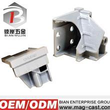 家具配件压铸模  广东铝合金压铸生产  转角接头开模压铸