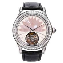 二手手表回收_泰奢_积家Q1653494高级珠宝腕表回收_镶钻自动机械女表高级回收