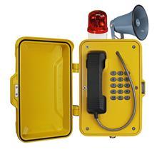 云南恩田智能 壁挂式紧急电话机地下管廊使用电话 隧道应急求助电话