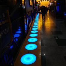 感应地砖灯 LED七彩跑 LED重力感应地砖灯 现货供应