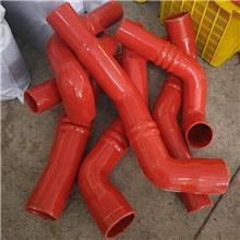 硅胶管 异型胶管 汽车配件弯管 夹布硅胶管 大口径耐高温硅胶管