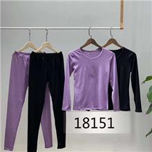 18151  男女款 保暖內衣套裝  包郵