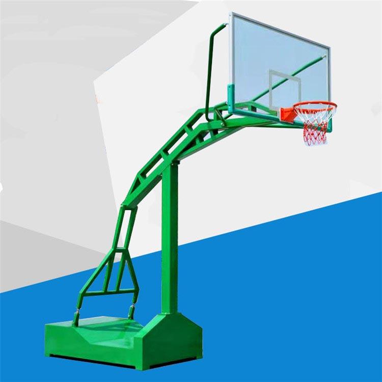 球馆赛事用篮球架 学校用凹箱篮球架 户外锻炼凹箱篮球架 可定制