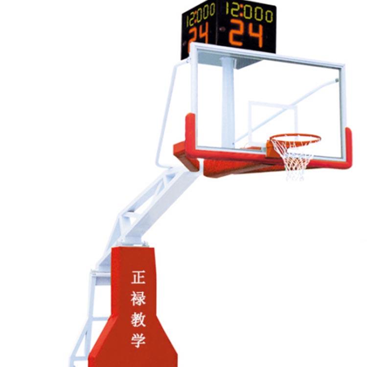 电动遥控折叠悬空悬挂篮球架 体育器材蓝球架 厂家直供 球馆赛事用篮球架 匠心工艺