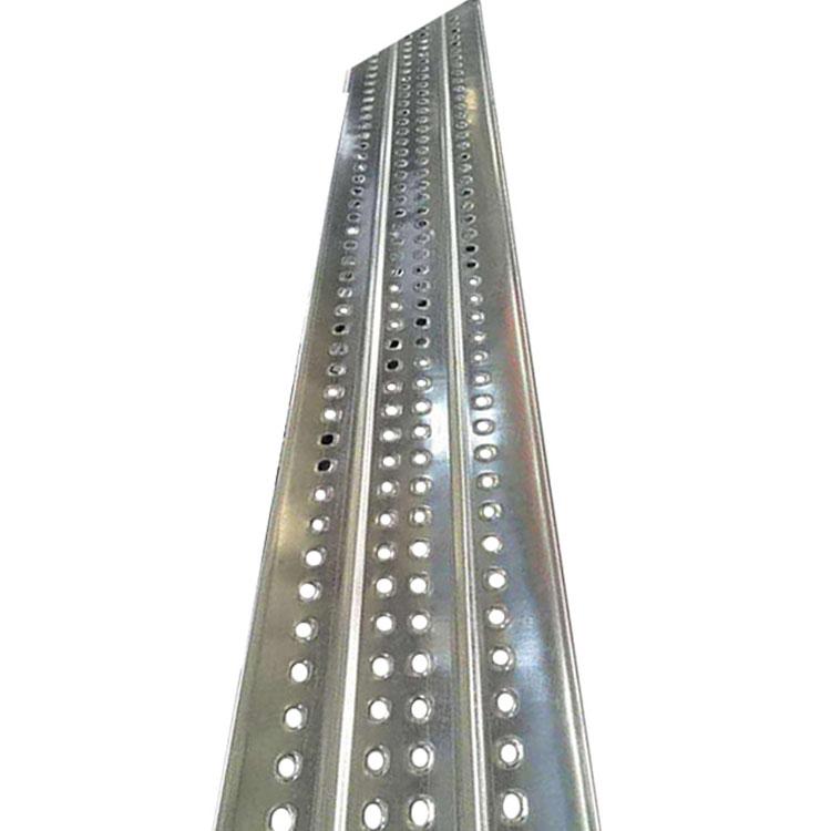 脚手架钢跳板 挂钩式建筑钢跳板 钢制脚手板 价格合理